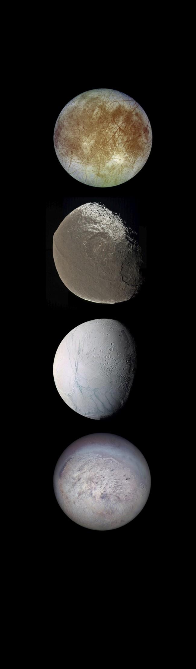 DSC-LA0719 05 Europa, Iapetus, Enceladus, Triton
