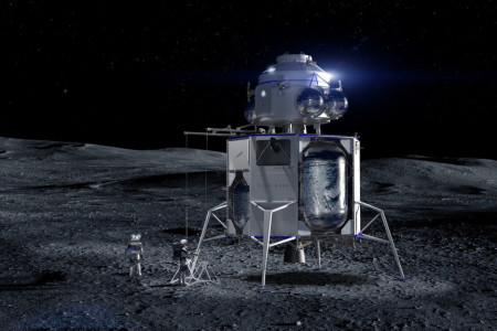 Blue Moon: Will Jeff Bezos' Lunar Lander Return Astronauts to the Moon?