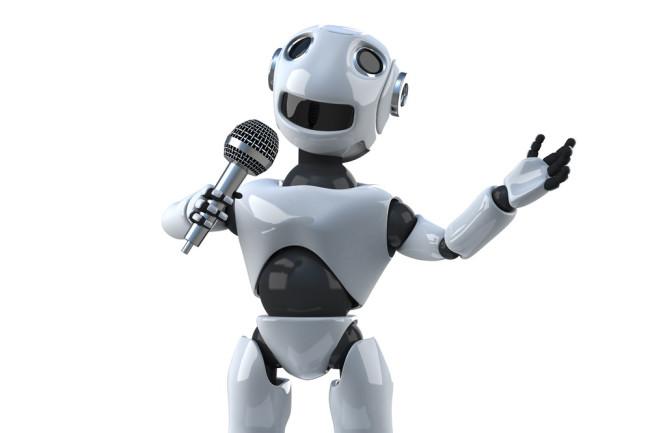 Singing Talking Robot - Shutterstock