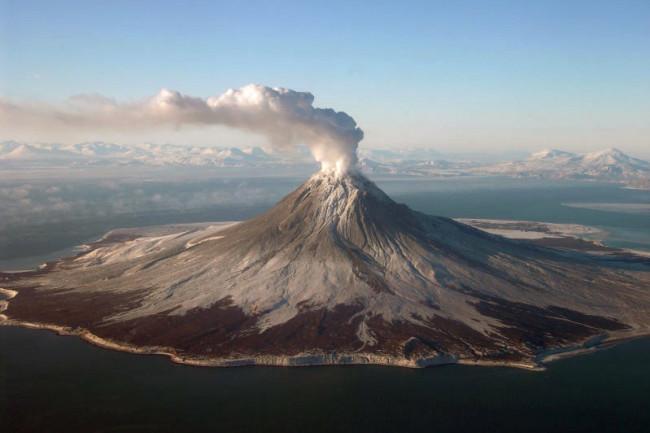 Volcano Augustine, Alaska, 2006 - USGS