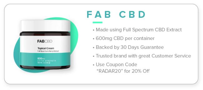 1 Fab CBD Cream