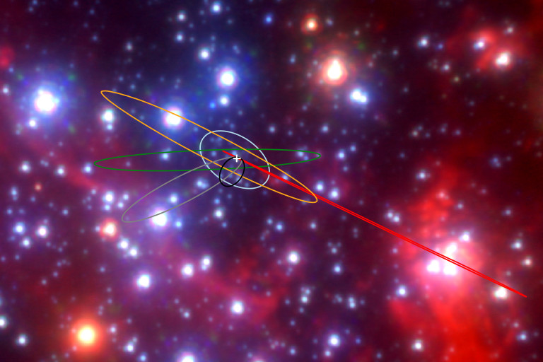 Astronomers Find Four Strange New Objects in the Center of the Milky Way