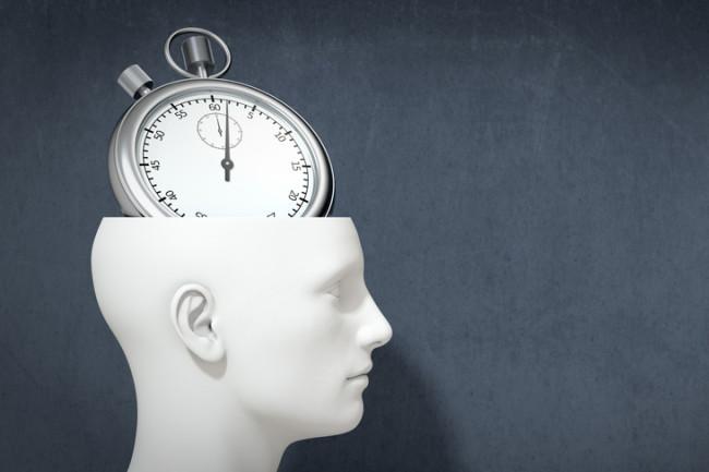 stopwatch brain - Shutterstock