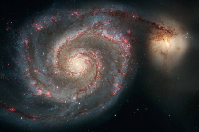 The M51 Whirpool Galaxy - NASA