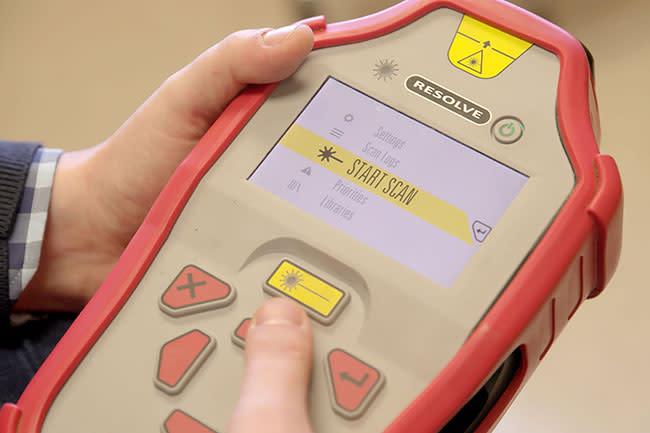 CBD scanner