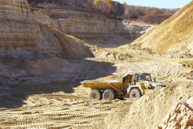 Sand Mine - Wisconsin Geological and Natural History Survey