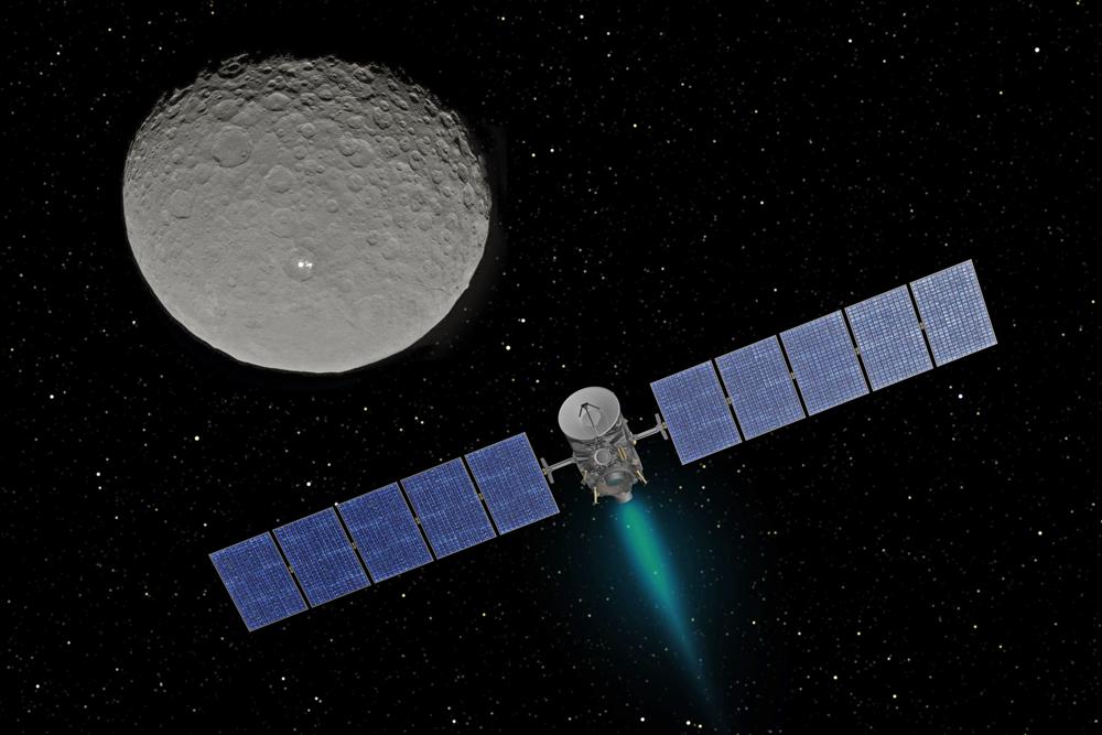 Dawn Space Probe and Ceres - NASA