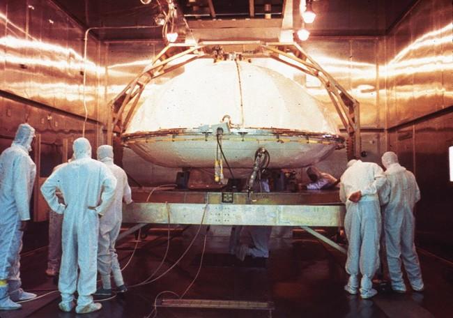 Sterilizing Viking Lander - NASA