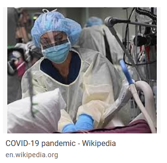 COVID patient imagery