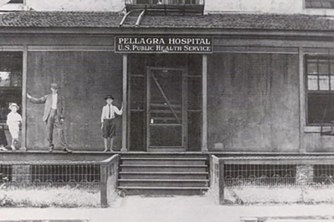 Spartanburg Pellagra Hospital - NIH