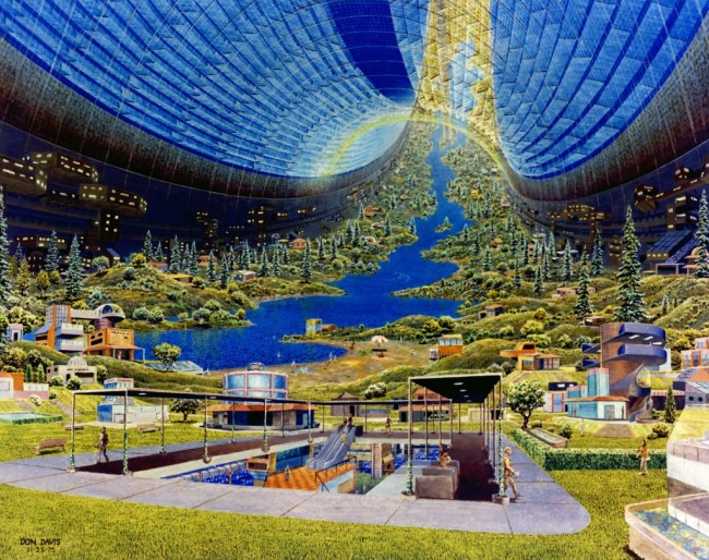 toroidal space colony - NASA