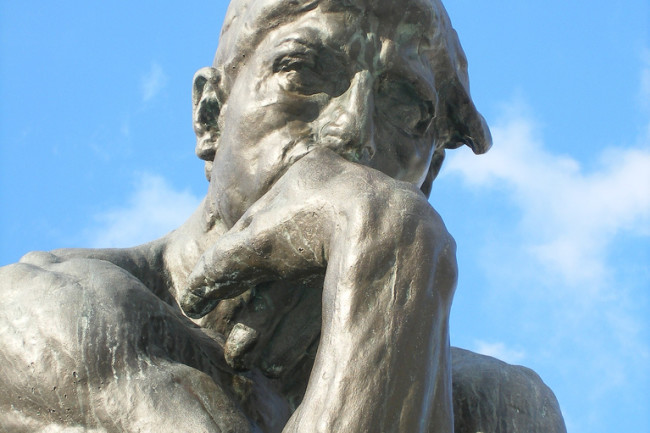Thinking Statue - Flickr