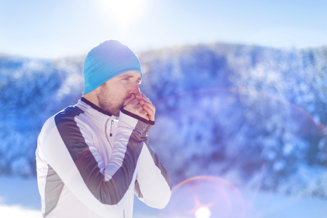 cold runner workout - shuttertock