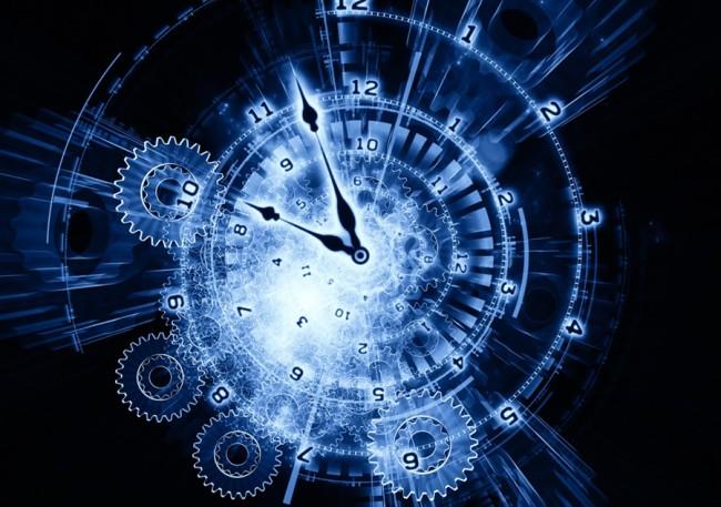 Blue Clock Time - Shutterstock