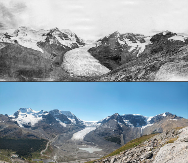Athabasca Glacier, Jasper National Park - The Mountain Legacy Project