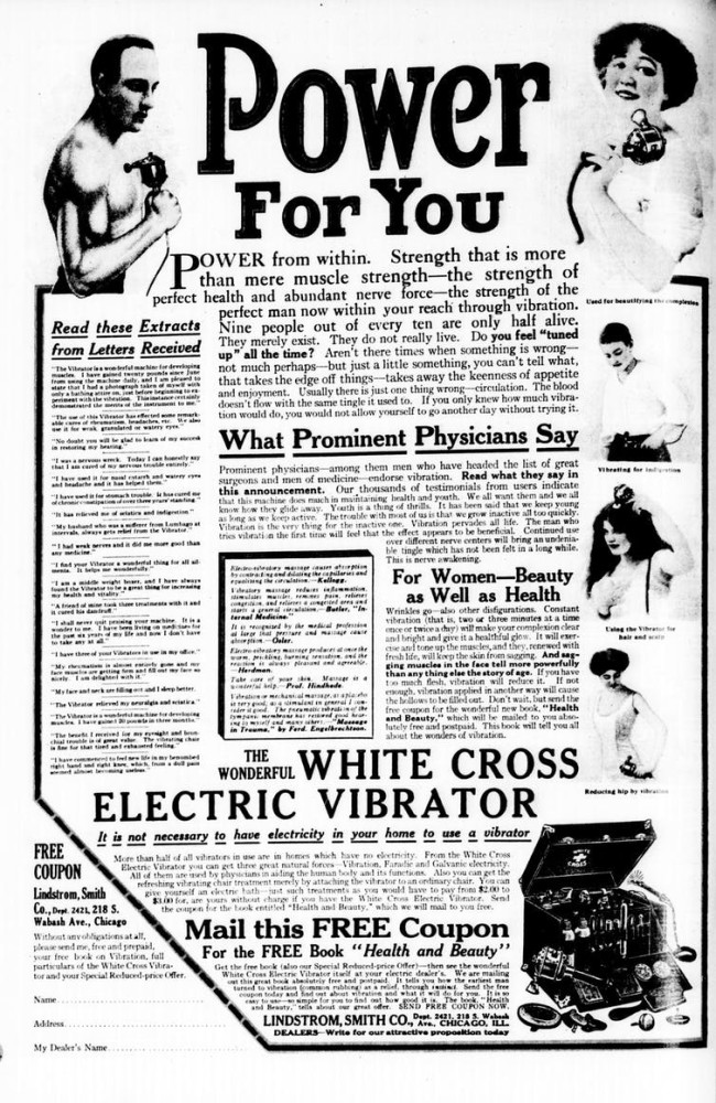 1913 Vibrator Ad - Wikimedia