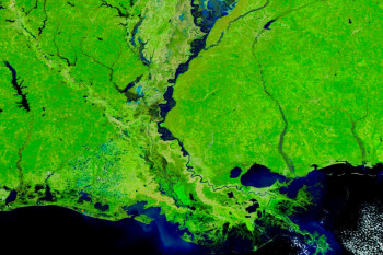Images From Space Reveal the Dramatic Extent of Flooding in the Mississippi Valley