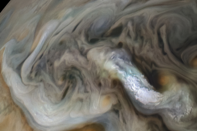 Jupiter Clouds - NASA