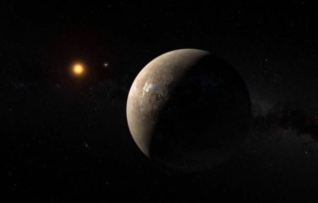 Proxima b Illustration