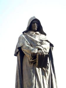Giordano Bruno: cosmologist, heretic, martyr, jerk. (Credit: David Oliver)