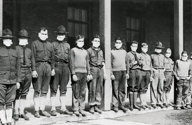 Flu Pandemic 1918 - Shutterstock