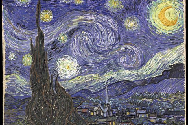 Van Gogh Starry Night - Wikimedia Commons