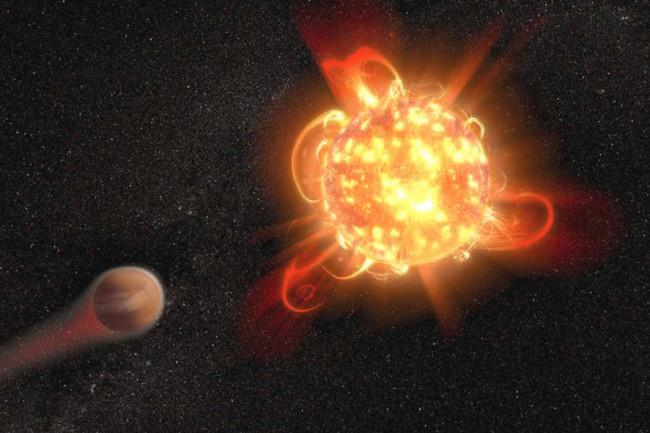 (Credit: NASA, ESA and D. Player (STScI))