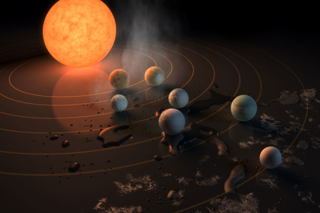 7 Earth-Sized Planets Found Orbiting a Tiny Star