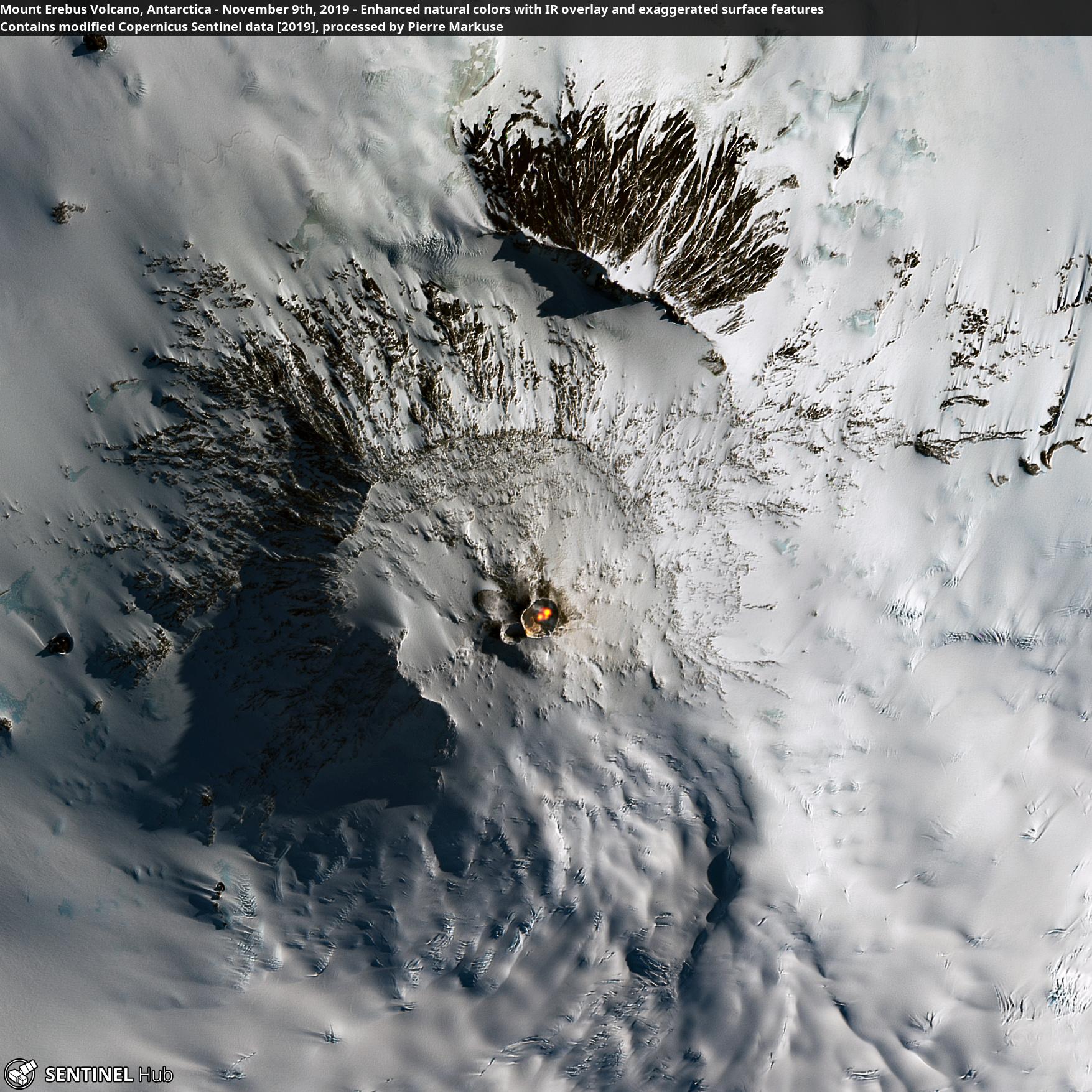 Mount Erebus Volcano Antarctica
