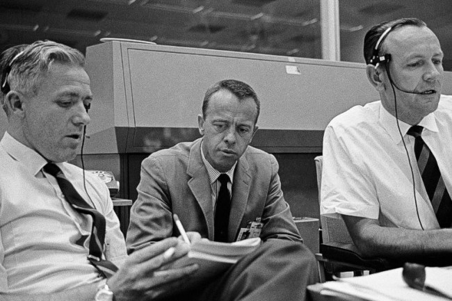 Hodge, Shepard, Kraft, Apollo - NASA