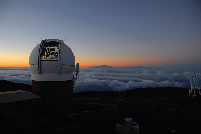 Pan-STARRS observatory - Rob Ratkowski/Institute for Astronomy