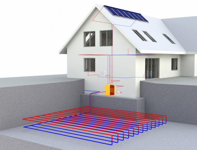 Direct-use geothermal system