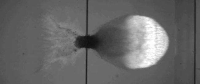 Hypervelocity impact testing node full image 2