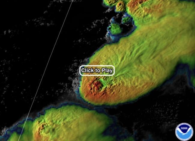 GOES-16 satellite storm image Texas - RAMMB/CIRA