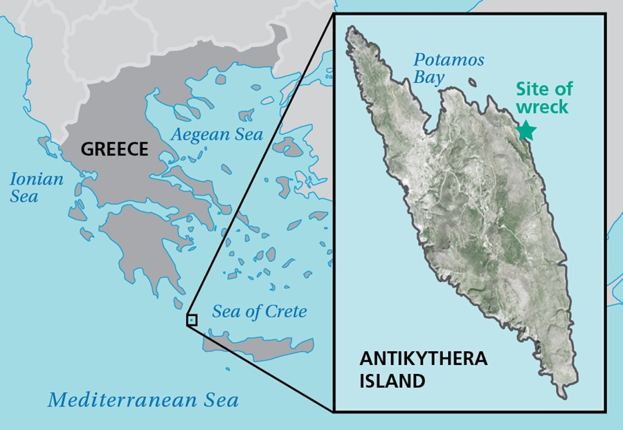 Antikythera map - Discover