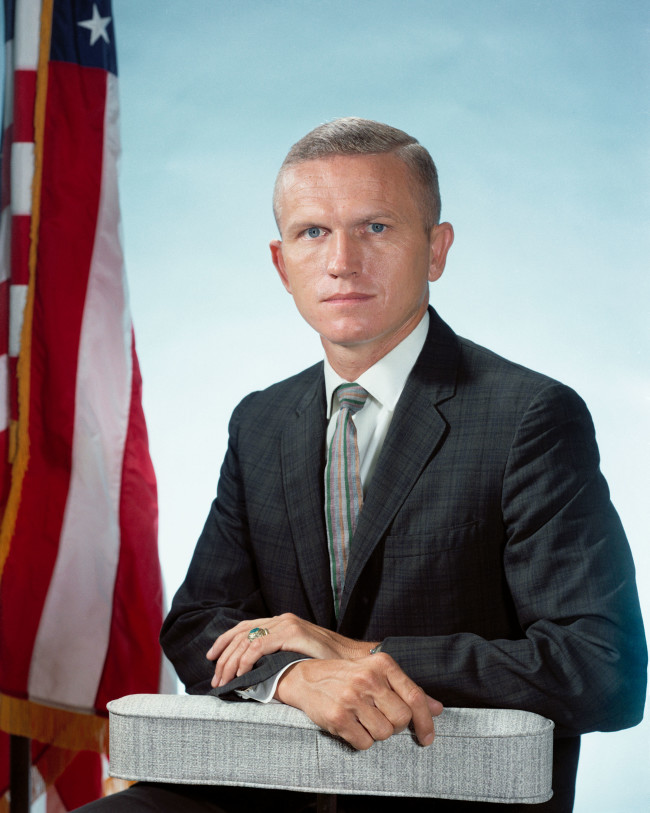 Astronaut Frank Borman - NASA