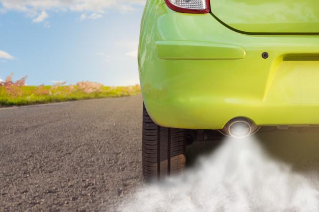 car exhaust - shutterstock