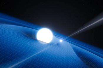 A White Dwarf Swirling Space-Time Around It Allows Astronomers Brand New Insights