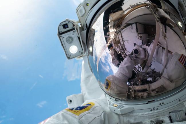 Astronaut Andrew Morgan selfie - NASA