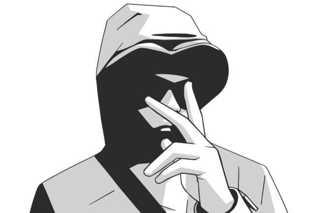 London Gang Member Hood - Shutterstock