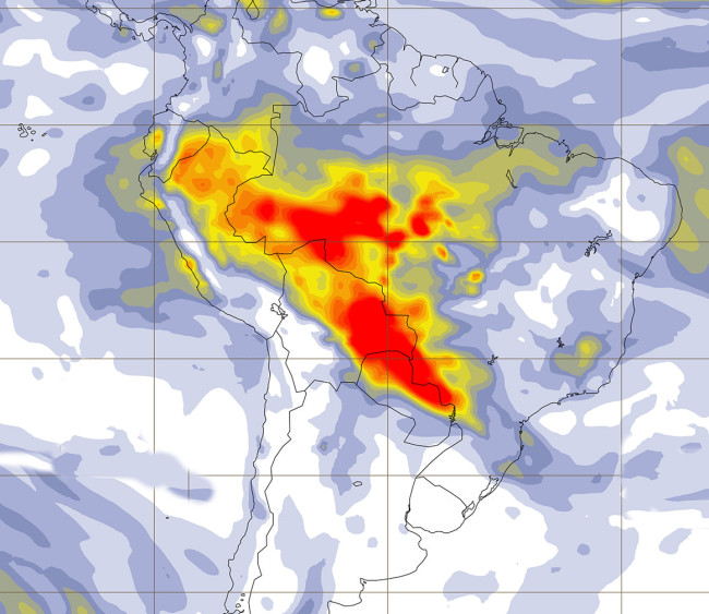 Amazon Fires Map - Copernicus Atmospheric Monitoring Service