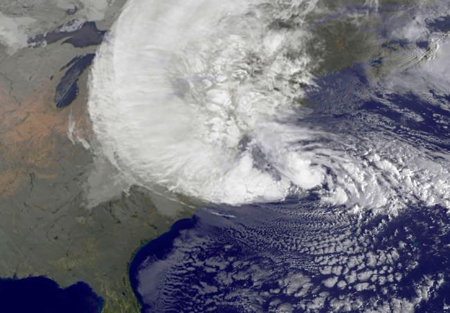 Hurricane Sandy - NASA