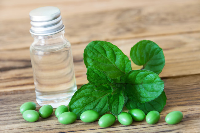 Peppermint Essential Oil - Shutterstock