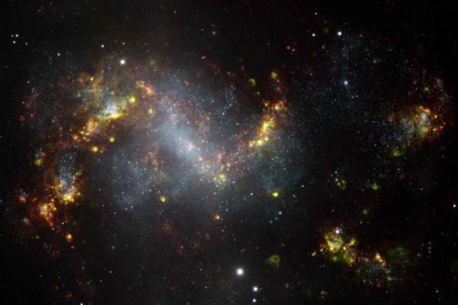 NGC1313 galazy - Gemini Obs/AURA