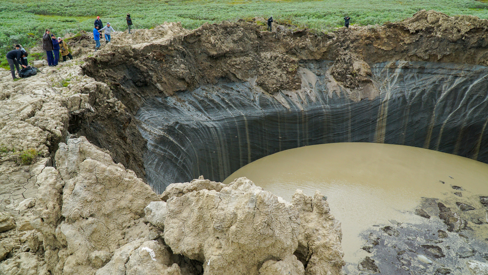 Massive Craters in Siberia Are Exploding Into Existence. What's Causing Them?