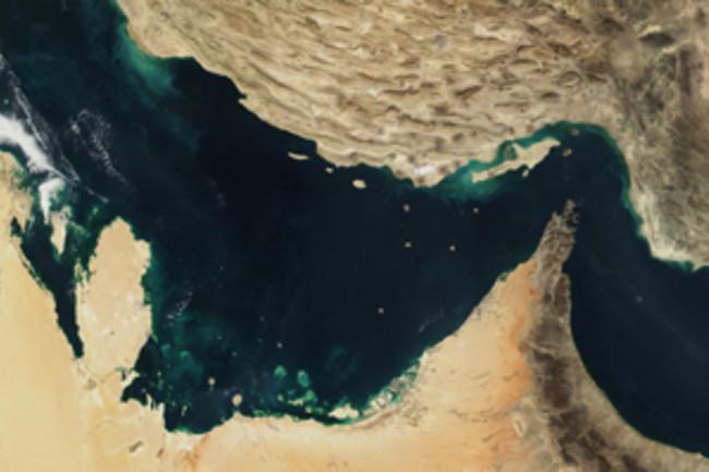 Arabian plate collides Eurasian plate