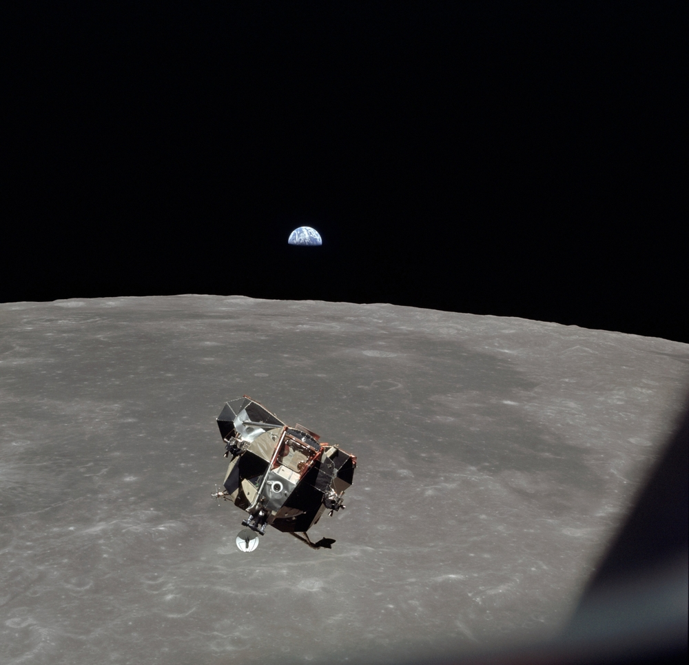 New Evidence Suggests Apollo 11's Lunar Ascent Module Could Still Be Orbiting the Moon