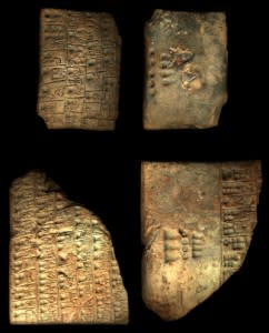 Proto-cuneiform from Uruk - CDLI:Wiki