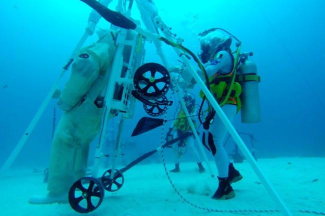 NEEMO 23 crew test LESA large