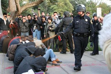 UC Davis Pepper Spray Incident - Wikimedia Commons
